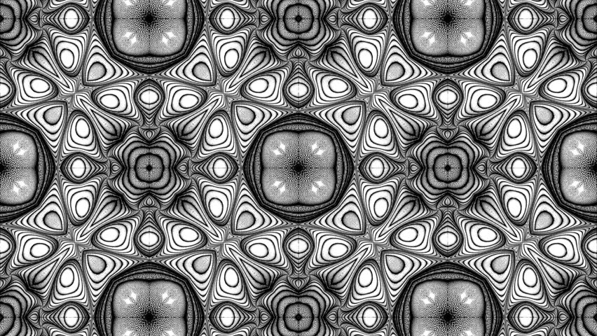 Abstract surreal loop motion background, variegated kaleidoscope | Shutterstock HD Video #25765244