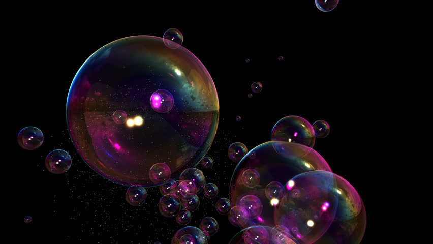 Soap Bubbles with alpha channel. Can be added to any footage by doing a composite add.