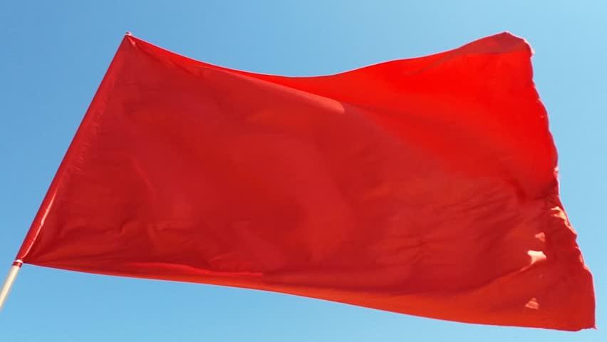 Header of red flag