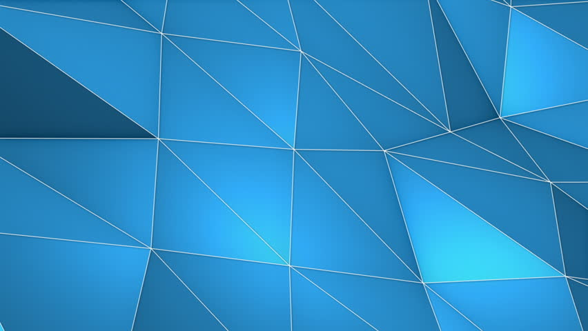 Elegant Polygonal Surface Triangular Polygons with Outlines Mesh of Triangles Low Poly Waves on a Plane Seamless Looping Motion Background Pleasant Blue   Shutterstock HD Video #27203521