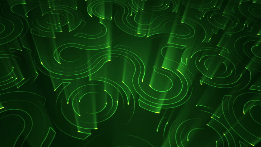 Abstract technologic background with stripes and particles. Animation of circuit electric signal with light shine. Animation of seamless loop. | Shutterstock HD Video #27423247