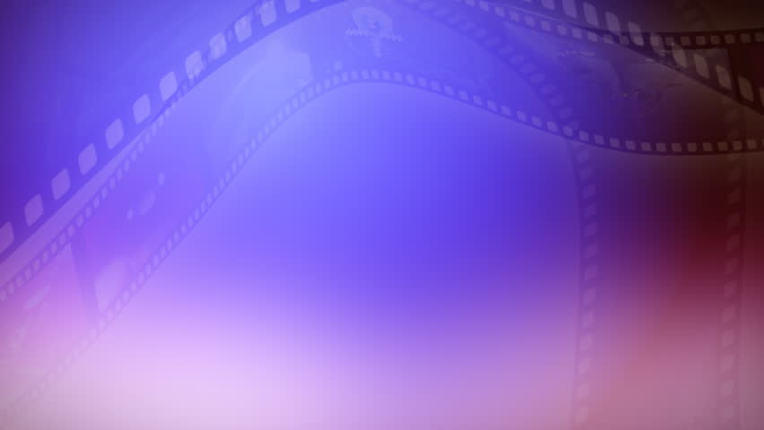 Animation background of a reel clip. Seamless loop.