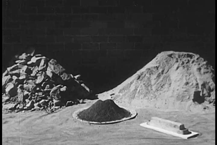Header of lead ore