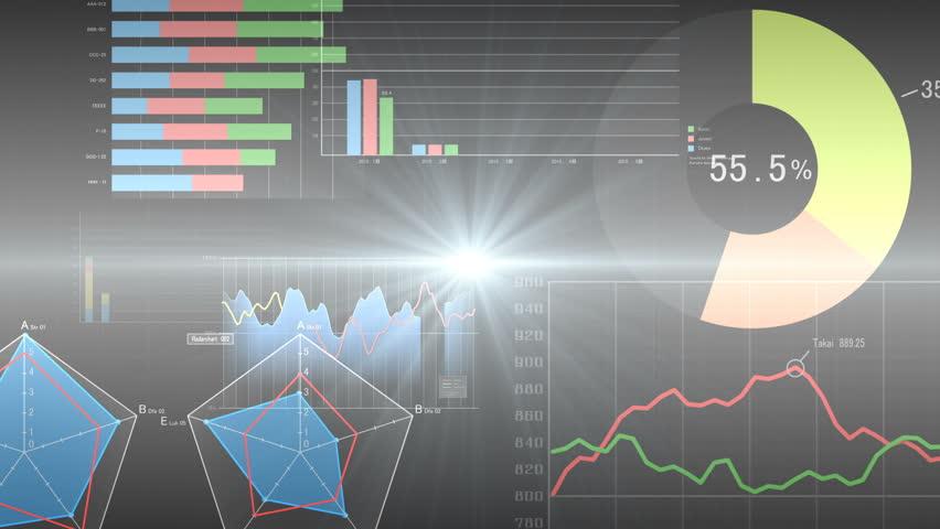 Business Data Graph. | Shutterstock HD Video #28080043