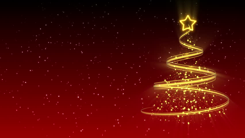 Christmas Tree Background - Merry Christmas 20 (HD) | Shutterstock HD Video #2811955
