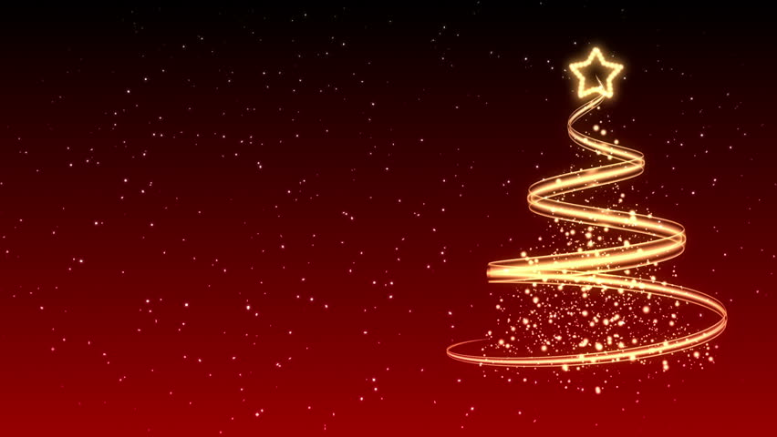 Christmas Tree Background - Merry Christmas 23 (HD)