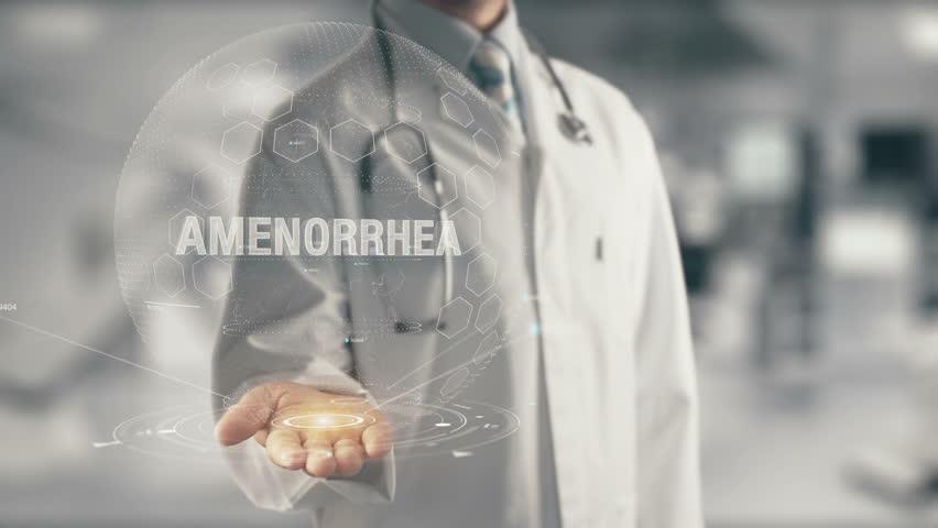 Header of amenorrhea