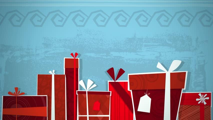 Christmas Presents Loop HD