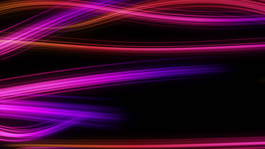 Colorful Swirly Streaks of Lights Moving Horizontally Seamless Looping Motion Background Pink Magenta Red