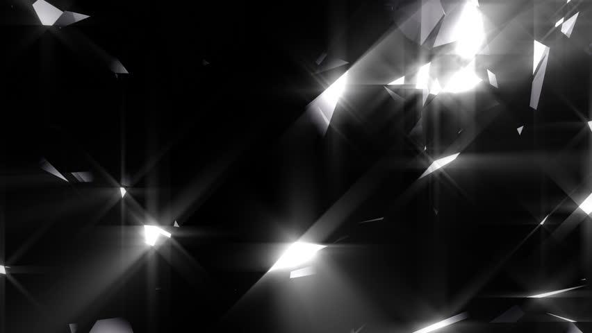Luxury shining background animation - loopable