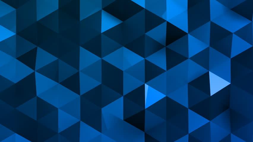 Geometric Triangle Wall waving background. | Shutterstock HD Video #29607847
