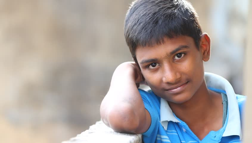 Indian Teen Boy Expressions Video Stock Footage Video -8712