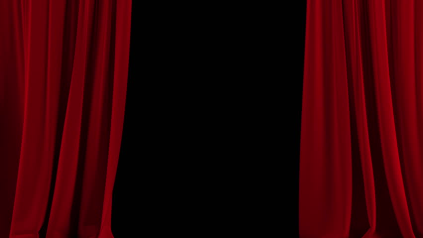 Curtain Stage Stock Footage Video - Shutterstock
