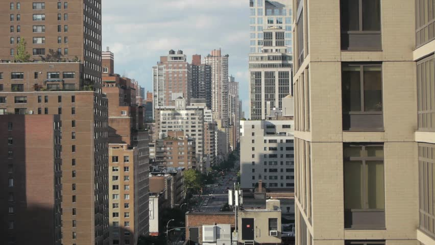 Aerial view of city NYC | Shutterstock HD Video #2999761