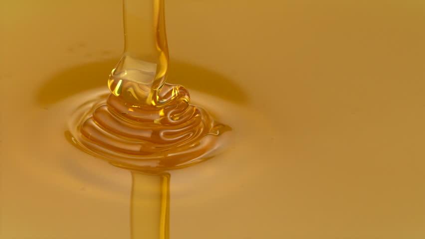 Pouring honey shooting with high speed camera, phantom flex.