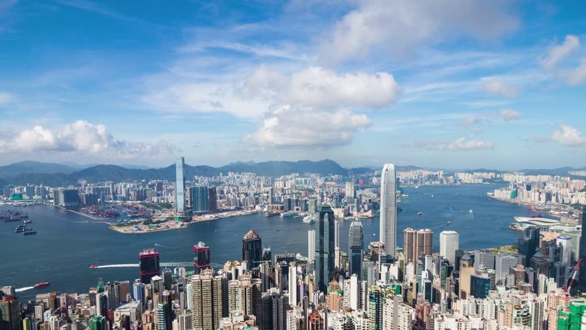 Hong Kong skyline | Shutterstock HD Video #30260149