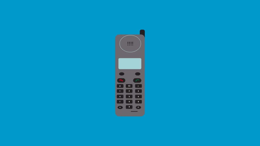 2d Motion graphic animation of Mobile phones evolution Old and new mobile phones, a few generation of phones on cycle seamless loop repeating. technologies progress concept | Shutterstock HD Video #30406852