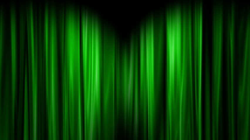Curtains Ideas curtains background : Green Curtains Open, White Background Stock Footage Video 3191362 ...