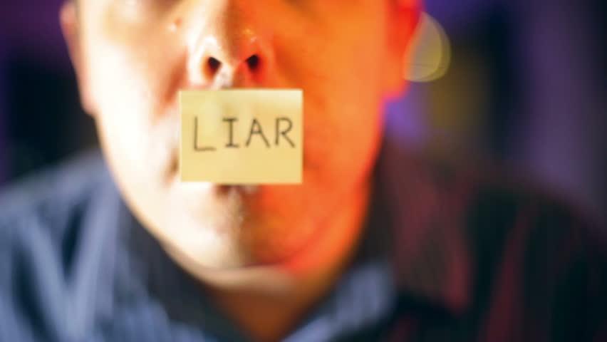 Header of liar