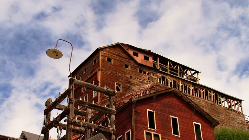 Kennecott Mine Historic Concentration Mill Time Lapse