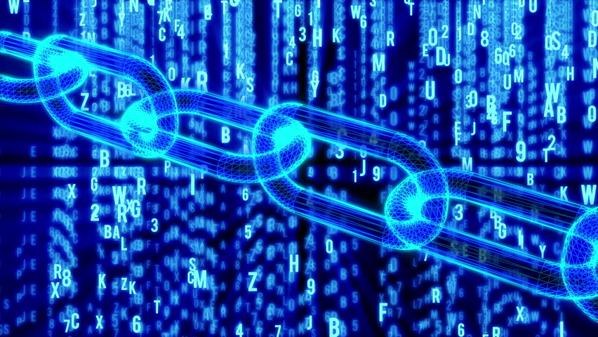 Blockchain. Cripto currency bitcoin. Global internet worldwide. Abstract Matrix Background. Binary Computer Code. Video available in 4K FullHD and HD render footage | Shutterstock HD Video #31116190