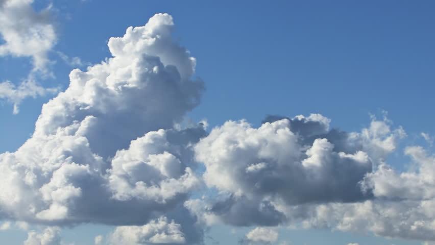 Towering Cumulus Cloud Billows Time Lapse