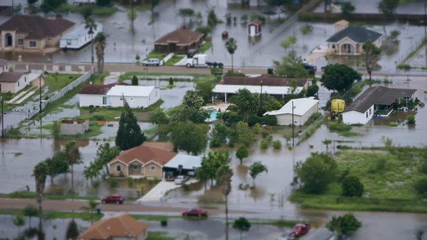 Depiction of flooding / mudslide. Suitable for showing the devastation wrought after massive natural disasters, hurricanes and landslides. | Shutterstock HD Video #31180045