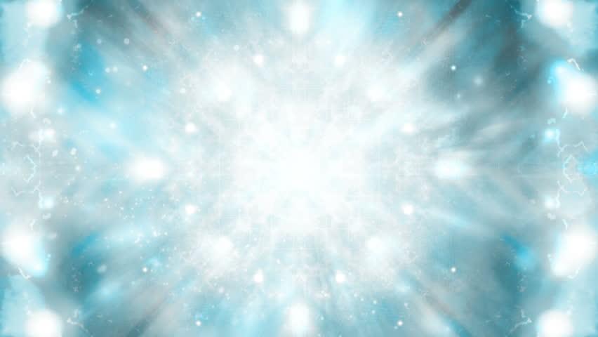 Cosmic blue gray looping CG VJ abstraction animated backdrop