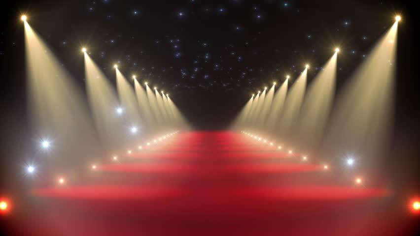 Red carpet loop