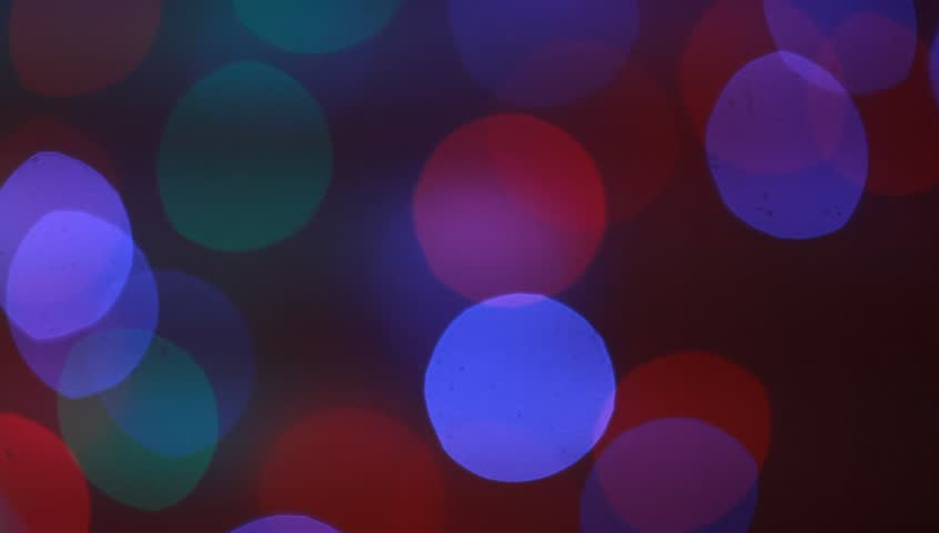 abstract light in holiday night