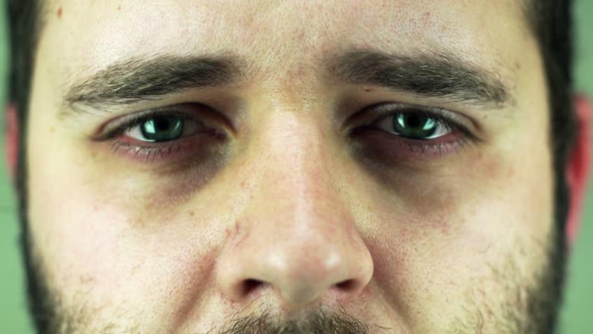 closeup of tear in - photo #45