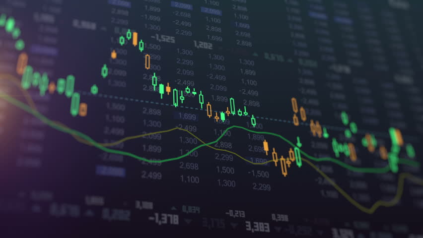 Stock in Candlestick Chart, business diagram animation | Shutterstock HD Video #31970527