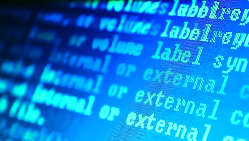 HTML codes  | Shutterstock HD Video #3203473