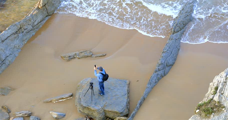 Arnia Beach, Cantabria, Spain | Shutterstock HD Video #32185129
