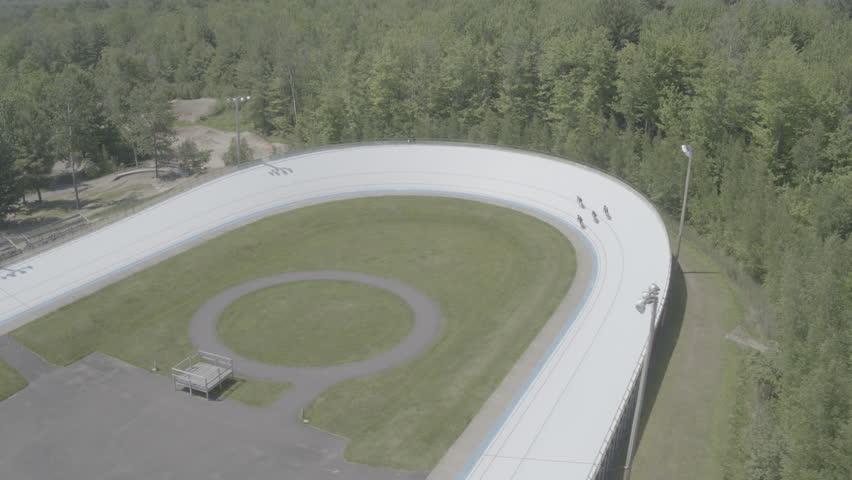 Header of velodrome