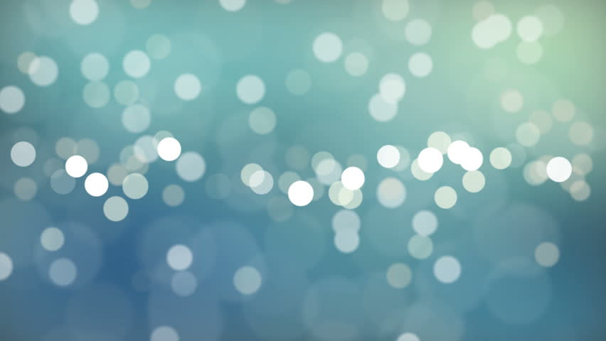 High Definition abstract CGI motion backgrounds ideal for editing, led backdrops or broadcasting featuring white and blue bokeh orb like particles.