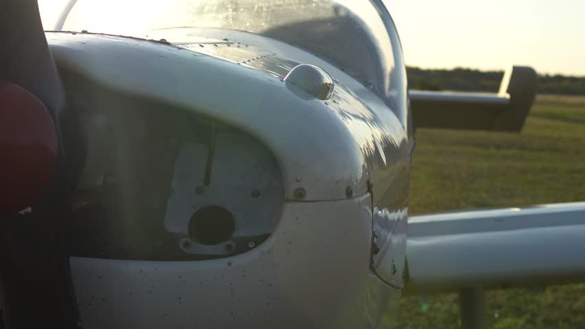 Header of airscrew