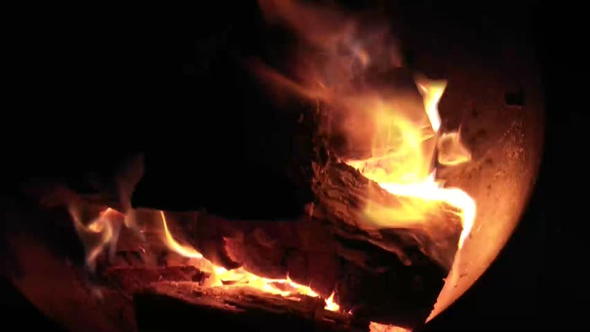 Put Out Fire In Fireplace hot fireplace full of wood and fire. fire burning in slow motion
