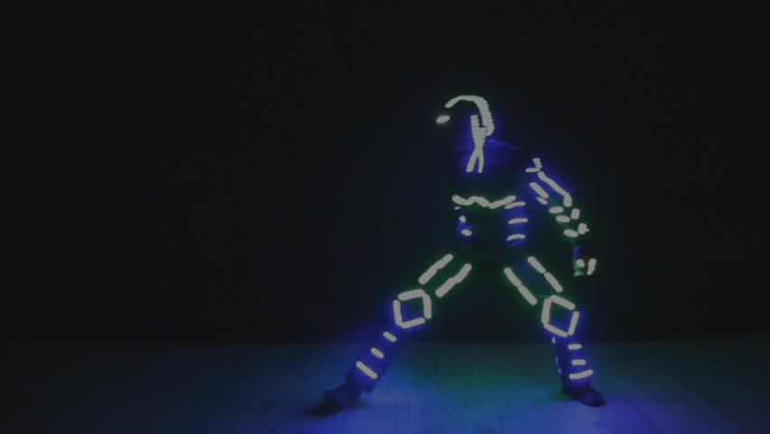 dance in the dark neon alien