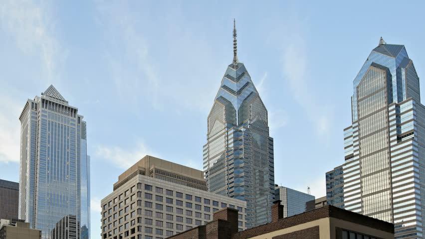 Skyline of downtown Philadelphia, Pennsylvania