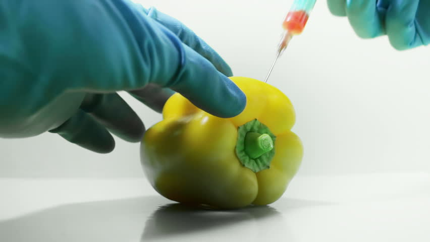 Surrogate food and products. The chemicals are introduced into the fruit. The color of the product changes to unnatural. The problem of nutrition of the 21st century