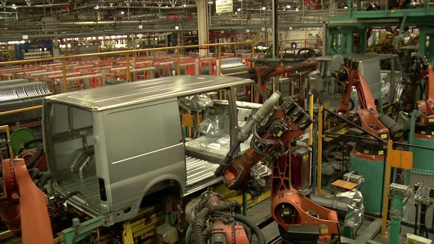 Automobile factory.