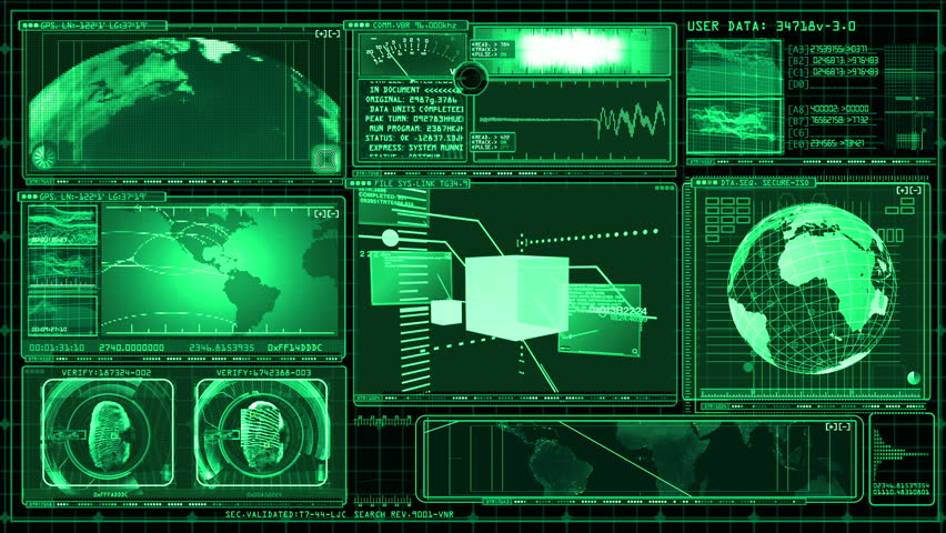 Technology Interface Computer Data Screen GUI