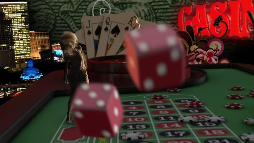 Amazing casino theme clip. montage. intro.  | Shutterstock HD Video #3367232