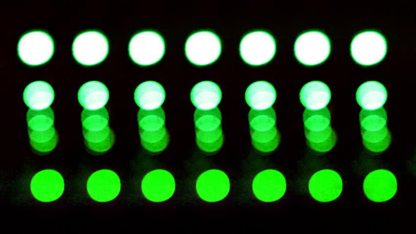 abstract urban light pattern