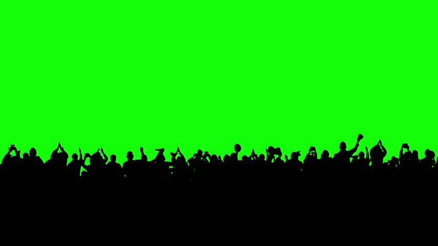 Crowd of people. Green screen. These people are real, shot on green screen. Check out other files from this series. #3420926