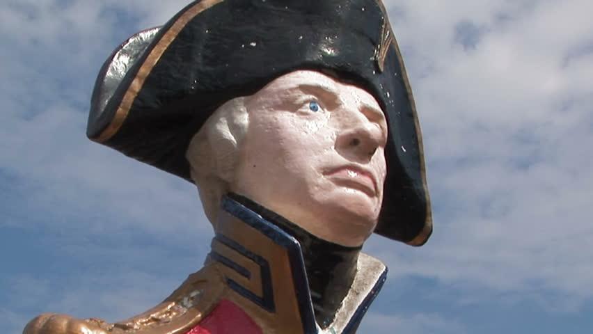 Header of Admiral Nelson