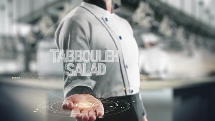 Header of tabbouleh