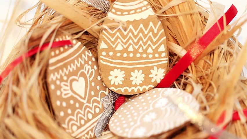 Easter eggs handmade