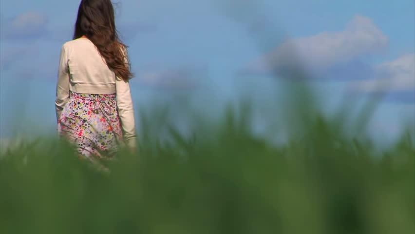 Woman Walking Away Stock Footage Video - Shutterstock